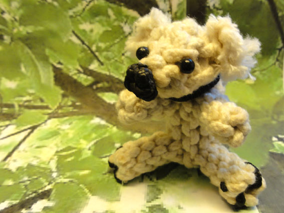 knotted animal Teddy bear